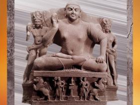 D'après un haut-relief de Buddha, style de Mathurâ, époque Kushâna, Ie- IIe siècle apjc, Uttar Pradesh, Inde du Nord. (Marsailly/Blogostelle)