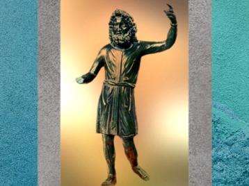 D'après le Sucellus Gaulois sous les traits de Jupiter, Gaule Romaine. (Marsailly/Blogostelle)