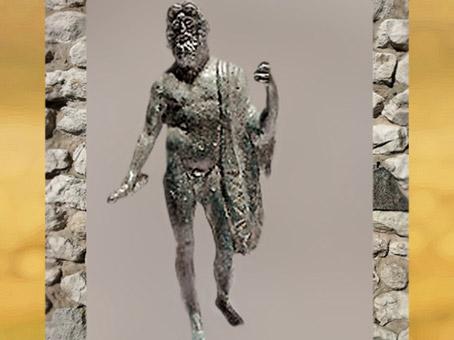 D'après Jupiter, bronze, IIe siècle apjc, Gaule romaine. (Marsailly/Blogostelle)
