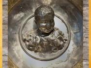 D'après Hercule Enfant et le Serpent, Trésor de Hildesheim, argent, Ier siècle avjc, Allemagne, Germanie Romaine. (Marsailly/Blogostelle)