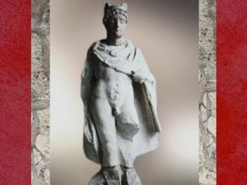 D'après Mercure, IIIe siècle apjc, Auxerre, Bourgogne, Gaule Romaine. (Marsailly/Blogostelle)