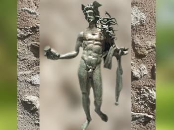 D'après Mercure au caducée et serpents, bronze, Ier siècle apjc, Gaule Romaine. (Marsailly/Blogostelle)