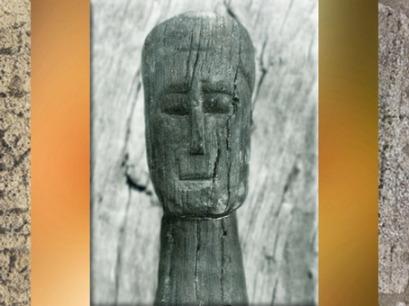 D'après un ex-voto sculpté dans le bois, la Seine, Ier - IIIe siècle apjc, Gaule Romaine. (Marsailly/Blogostelle)