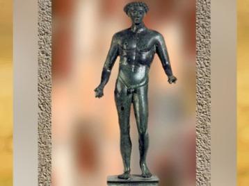 D'après Mercure, statue votive, Gaule Romaine. (Marsailly/Blogostelle)