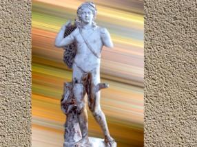 D'après une statue d'Apollon, IIe siècle apjc, Vienne, Isère, France, Gaule Romaine. (Marsailly/Blogostelle)