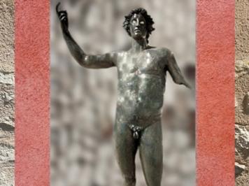 D'après Mars, Mercure, Apollon, dit dieu de Coligny, fin Ier siècle apjc, Lyon, Gaule Romaine. (Marsailly/Blogostelle)