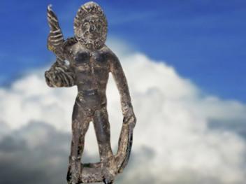 D'après Taranis-Jupiter, bronze, Ier siècle apjc, Haute Marne, France,Gaule Romaine. (Marsailly/Blogostelle)