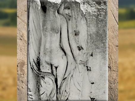D'après une Vénus, villa de Vieux-la-Romaine, IIe-IIIe siècle apjc, Gaule Romaine, Normandie. (Marsailly/Blogostelle)