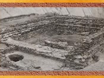 D'après les vestiges du temple antique et du sanctuaire gaulois de Tintignac, Ier-IVe siècle apjc, Corrèze, France,Gaule Romaine. (Marsailly/Blogostelle)