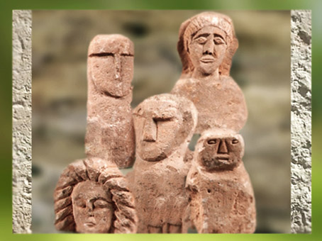 D'après des ex-votos, sanctuaire de la forêt d'Halatte, Picardie ; Ier-IIIe siècle apjc,Gaule Romaine. (Marsailly/Blogostelle)