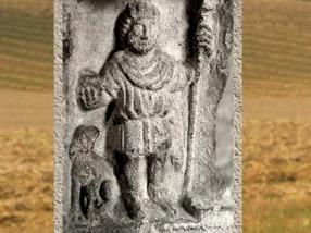 D'après le dieu gaulois Sucellus du Pilier des Nautes, Ier siècle apjc, Lutèce (Paris),Gaule Romaine.(Marsailly/Blogostelle)