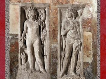D'après Mercure et Apollon, pilier du Pont-au-Change, Ier siècle apjc, Paris, France,Gaule Romaine. (Marsailly/Blogostelle)