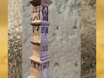 D'après le Pilier des Nautes, sculpté au Ier siècle apjc (vers 14-37 apjc), Lutèce, Paris, France,Gaule Romaine. (Marsailly/Blogostelle)