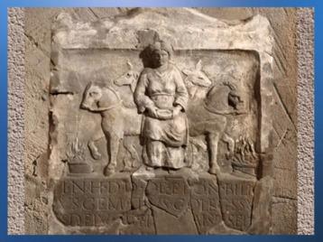 D'après la déesse gauloise Épona, époque romaine, Kapersburg, Allemagne. (Marsailly/Blogostelle)