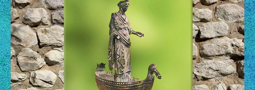 D'après le culte des sources, ouverture, Gaule Romaine. (Marsailly/Blogostelle)