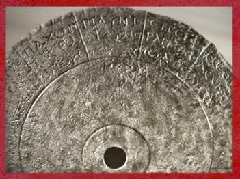 D'après le disque atrologique de Chevroches, fin IIIe siècle apjc, Gaule Romaine. (Marsailly/Blogostelle)