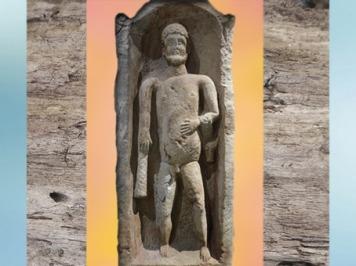 D'après une stèle d'Hercule, sanctuaire des sources d'Hercule, IIe siècle apjc, Deneuvre, Meurthe-et-Moselle, France, Gaule Romaine. (Marsailly/Blogostelle)