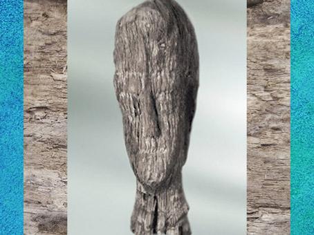 D'après un ex-voto en bois, Ier - IIIe siècle apjc, Bourgogne, France,Gaule Romaine. (Marsailly/Blogostelle)