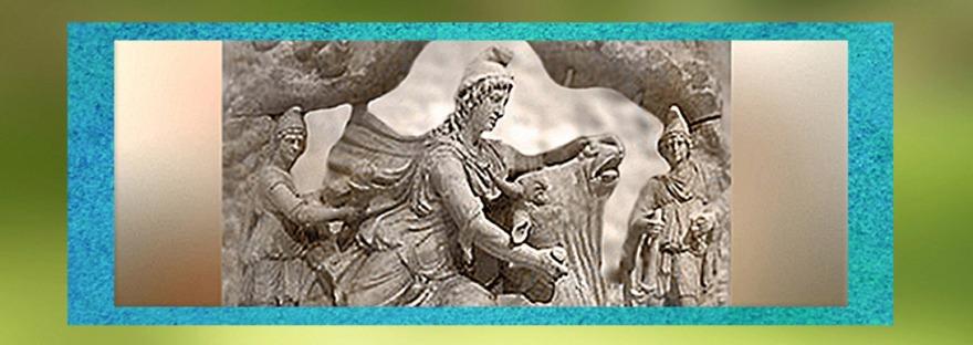 D'après le culte de Mithra, ouverture, Gaule Romaine. (Marsailly/Blogostelle)