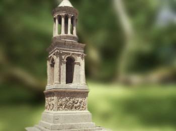 D'après le monument funéraire de Julius, fin Ier siècle avjc, Saint-Remy-de-Provence, France, Gaule Romaine. (Marsailly/Blogostelle)