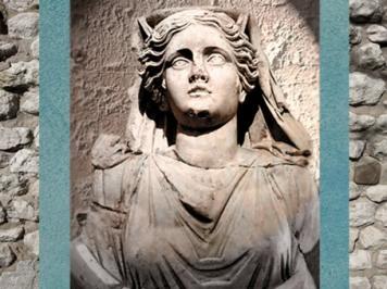 D'après le buste de Cybèle, IIe -IIIe siècle apjc, Gaule Romaine. (Marsailly/Blogostelle)