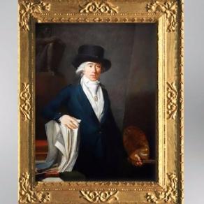 D'après un autoportrait de Jean-Baptiste Pierre Le Brun, 1795. (Marsailly/Blogostelle)