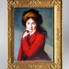 D'après La comtesse Nathalie Golovine, vers 1800, Élisabeth Louise Vigée Le Brun. (Marsailly/Blogostelle