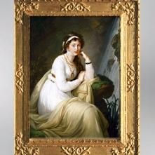 D'après le portrait de Anna Ivanovna Tolstaïa, 1796, Élisabeth Louise Vigée Le Brun. (Marsailly/Blogostelle)