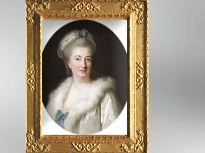 D'après un portrait de Madame Le Sèvre, née Jeanne Maissin, mère de l'artiste, Vigée Le Brun. (Marsailly/Blogostelle)