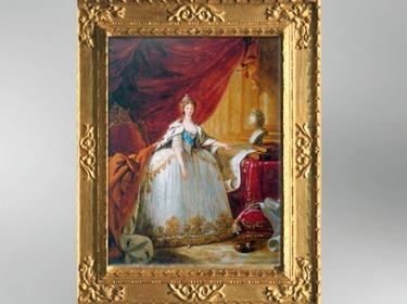 D'après l'impératrice Maria Feodorovna, esquisse, 1799-1800, Élisabeth Louise Vigée Le Brun. (Marsailly/Blogostelle)