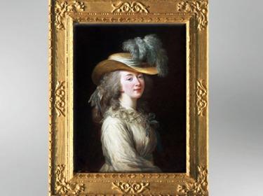 D'après Madame du Barry, Jeanne Bécu de Cantigny, 1781, Élisabeth Louise Vigée Le Brun. (Marsailly/Blogostelle)
