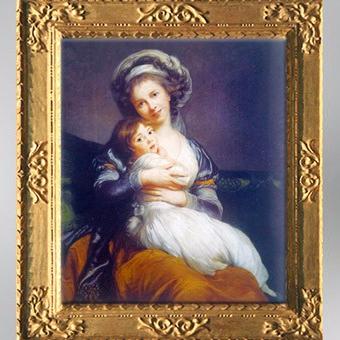 D'après l'artiste et sa fille Julie, dit La Tendresse Maternelle, 1786, Élisabeth Louise Vigée Le Brun. (Marsailly/Blogostelle)