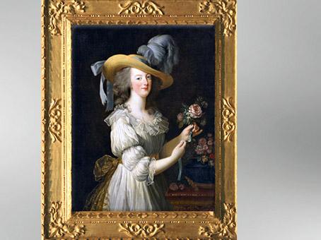 D'après un portrait de Marie-Antoinette en chemise, vers 1783, Élisabeth Louise Vigée Le Brun. (Marsailly/Blogostelle)