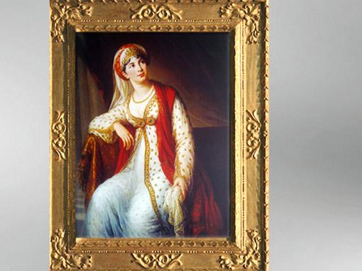 D'après Giuseppina dans le rôle de Zaïre, 1804, Élisabeth Louise Vigée Le Brun. (Marsailly/Blogostelle)