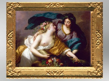 D'après La Paix ramenant l'Abondance, 1780, Élisabeth Louise Vigée Le Brun. (Marsailly/Blogostelle)