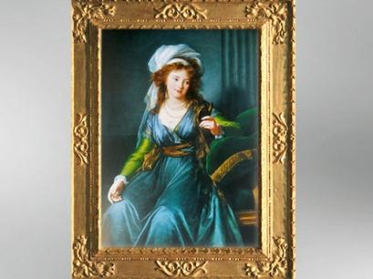 D'après la comtesse Skravronskaïa, 1790, Élisabeth Louise Vigée Le Brun. (MarsaillyBlogostelle)