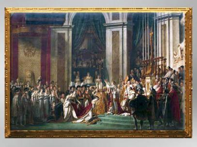 D'après le Sacre de Napoléon, 1806 - 1807, Jacques-Louis David dit David (Marsailly/Blogostelle)