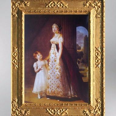 D'après Caroline Bonaparte et sa fille aînée, 1805, Élisabeth Louise Vigée Le Brun. (Marsailly/Blogostelle)