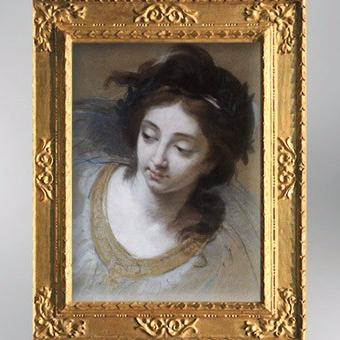D'après un dessin d'étude pour la Paix ramenant l'Abondance, 1780, Élisabeth Louise Vigée Le Brun. (Marsailly/Blogostelle)