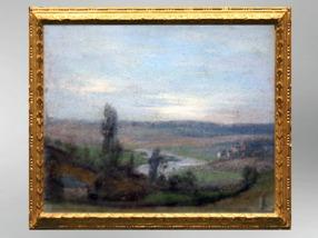 D'après La Vallée de la Meuse et village, 1826, Élisabeth Louise Vigée Le Brun. (Marsailly/Blogostelle)