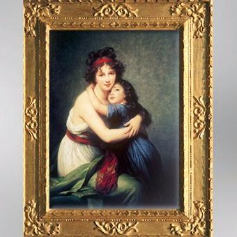 D'après l'artiste et sa fille Jeanne Lucie Julie, dite Julie, 1789, Élisabeth Louise Vigée Le Brun. (Marsailly/Blogostelle)