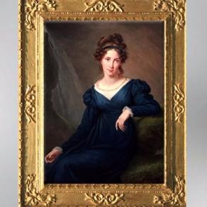 D'après un portrait de Tatyana Borisovna Potemkina, 1820, Élisabeth Louise Vigée Le Brun. (Marsailly/Blogostelle)