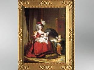 D'après La Reine Marie-Antoinette et ses enfants, 1787, Élisabeth Louise Vigée Le Brun. (Marsailly/Blogostelle)