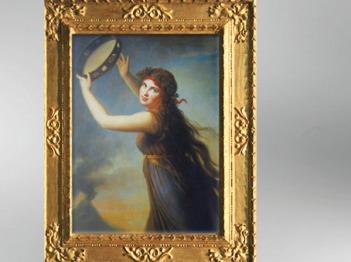 D'après Lady Hamilton en Bacchante, vers 1790, Élisabeth Louise Vigée Le Brun. (Marsailly/Blogostelle)