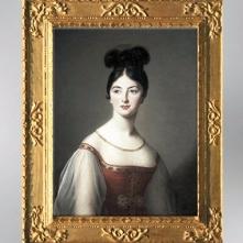 D'après un portrait féminin au chignon, 1831, Élisabeth Louise Vigée Le Brun. (Marsailly/Blogostelle)