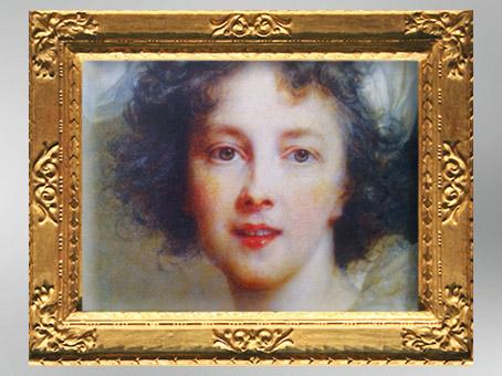 D'après un autoportrait de l'artiste, détail, vers 1791, Élisabeth Louise Vigée Le Brun. (Marsailly/Blogostelle)