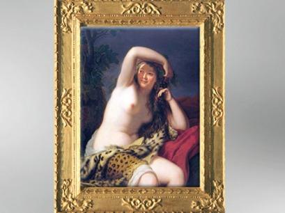 D'après une Bacchante, 1785, Élisabeth Louise Vigée Le Brun. (Marsailly/Blogostelle)