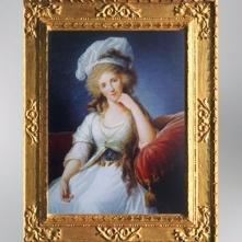 D'après Louise Marie Adélaïde de Bourbon-Penthièvre, duchesse d'Orléans, 1789, Vigée Le Brun. (Marsailly/Blogostelle)
