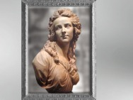 D'après le buste d'Élisabeth Louise Vigée Le Brun, par Augustin Pajou, 1783, terre cuite. (Marsailly/Blogostelle)