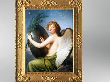 D'après Le Génie de l'Empereur Alexandre Ier, 1814, Élisabeth Louise Vigée Le Brun. (Marsailly/Blogostelle)
